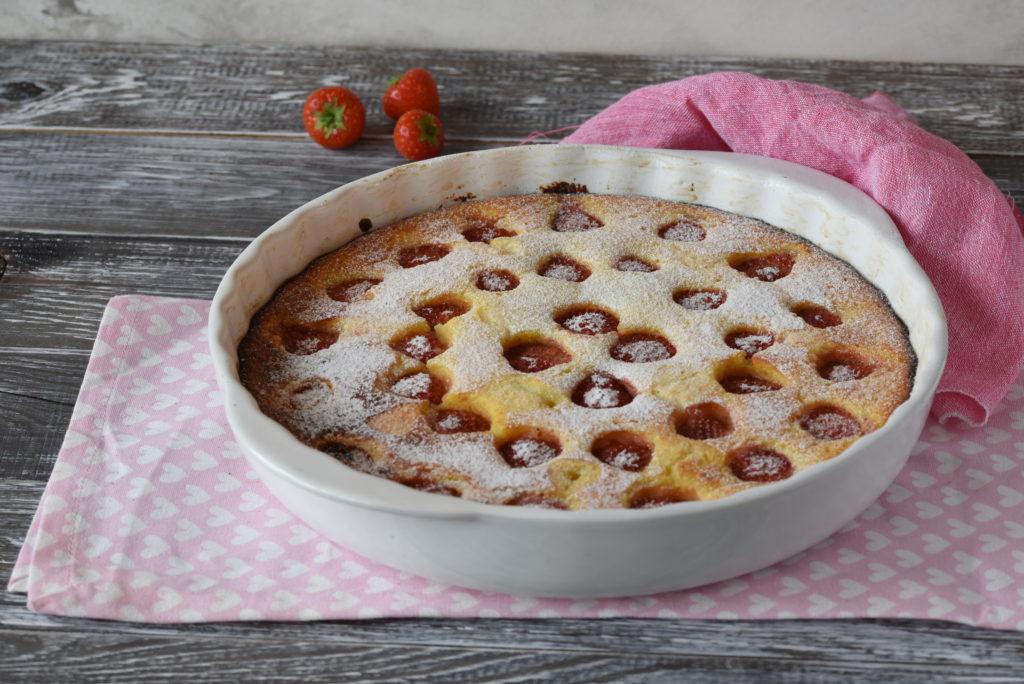 Schnell und herrlich süß: Erdbeerauflauf