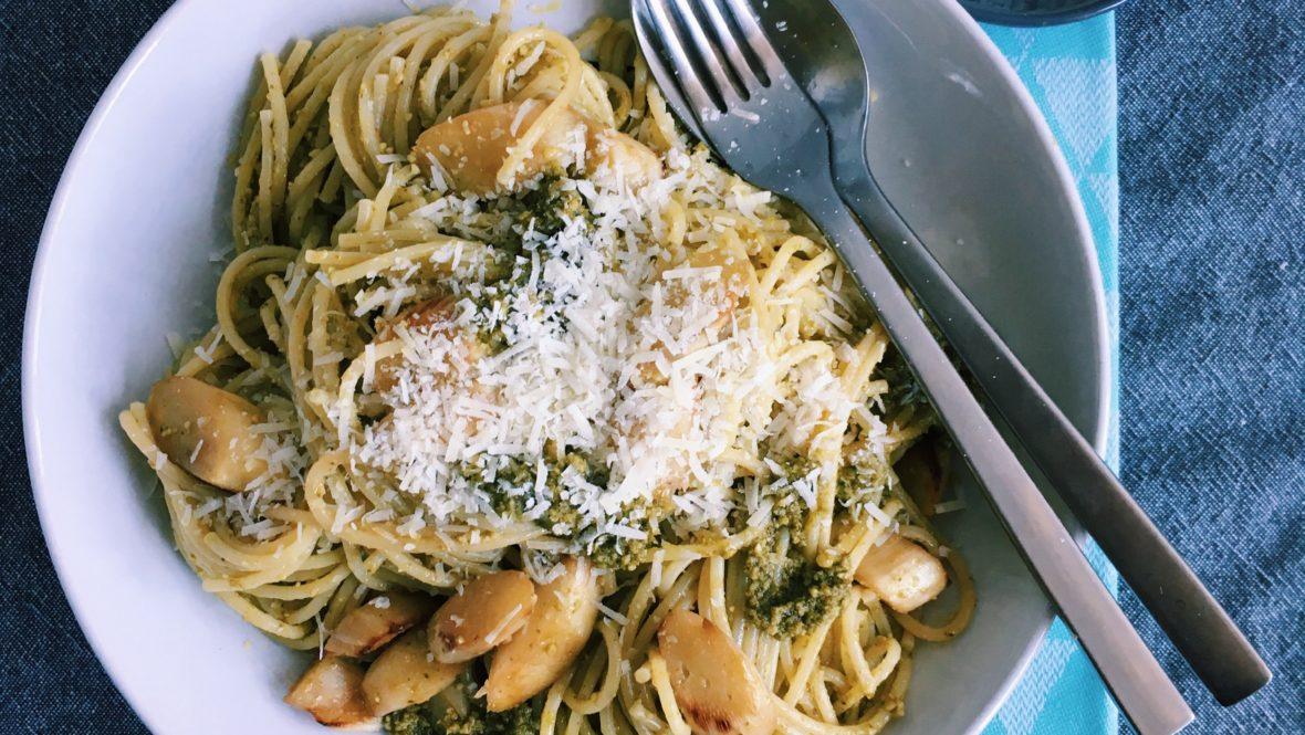 Herrliche Spargel-Pasta